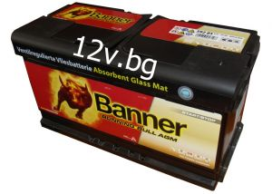 Акумулатор Banner Power Bull PROfessional 12/100 Ah R+