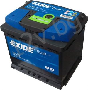 Акумулатор Exide Excell 50 Ah R+