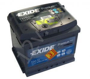 Акумулатор Exide Premium 47 Ah R+