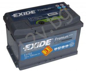 Акумулатор Exide Premium 72 Ah R+