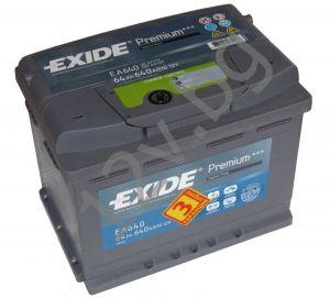 Акумулатор Exide Premium 64 Ah R+