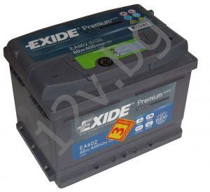 Акумулатор Exide Premium 61 Ah R+