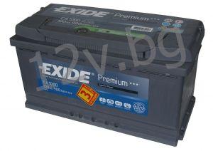 Акумулатор Exide Premium 100R+