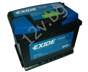Акумулатор Exide Excell 62 Ah R+