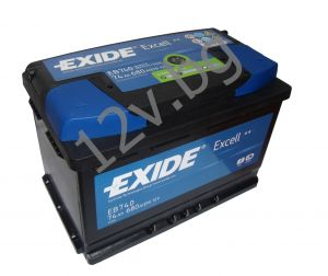 Акумулатор Exide Excell 74 Ah R+