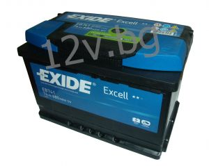 Акумулатор Exide Excell 74 Ah L+