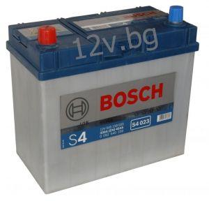 Акумулатор BOSCH S4 45 L+JIS