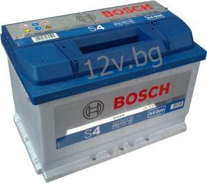 Акумулатор BOSCH S4 74 R+