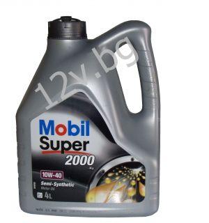 Mobil Super 2000 X1 DIESEL 10W-40  -4л.