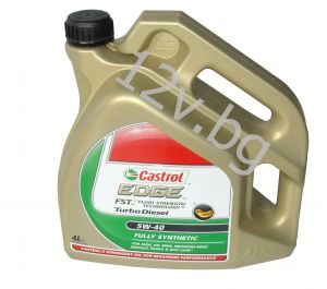 Castrol EDGE TURBO DIESEL 5W-40  - 4л.