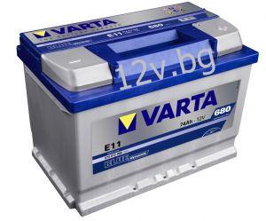 Акумулатор VARTA BLUE DYNAMIC 74R+