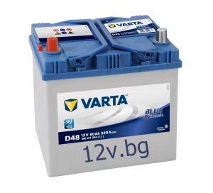 Акумулатор VARTA BLUE DYNAMIC ASIA 60L+ JIS