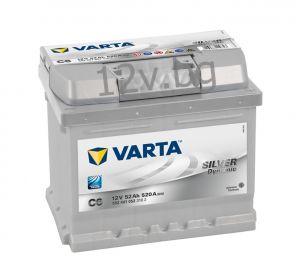 Акумулатор VARTA SILVER DYNAMIC 52 R+