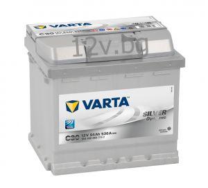 Акумулатор VARTA SILVER DYNAMIC 54 R+