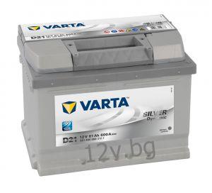 Акумулатор VARTA SILVER DYNAMIC 61 R+