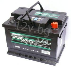 Акумулатор Gigawatt 60 R+