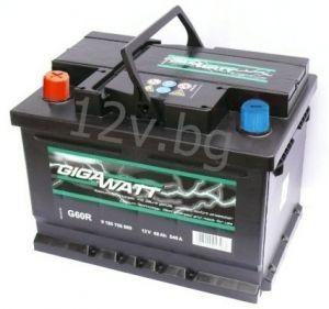 Акумулатор Gigawatt 60 L+