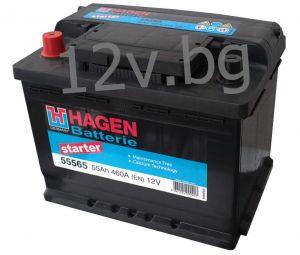 Акумулатор HAGEN 55 L+