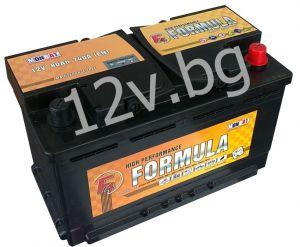 Акумулатор 12/80 R+      FORMULA