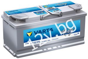 Акумулатор VARTA SILVER DYNAMIC AGM 105 R+