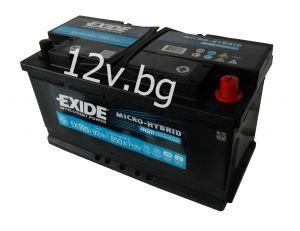 Акумулатор Exide AGM 95 Ah R+