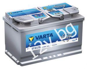 Акумулатор VARTA SILVER DYNAMIC AGM 80 R+