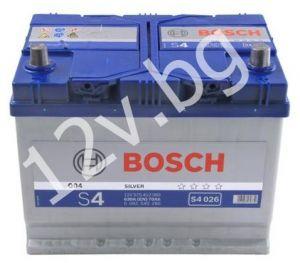 Акумулатор BOSCH S4 60 R+JIS