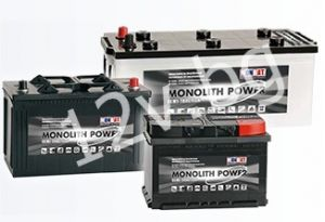 Акумулатор MONBAT MONOLIT POWER 75 Ah R+