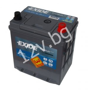 Акумулатор Exide Premium 38 Ah R+ JIS