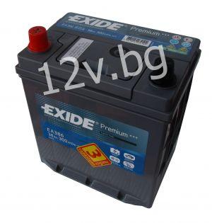 Акумулатор Exide Premium 38 Ah L+ JIS