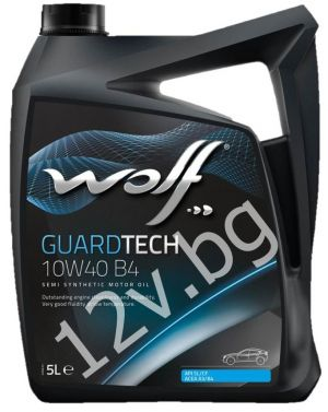 WOLF GUARDTECH GTS B4 10W40 A3/B3/B4 - 5л.