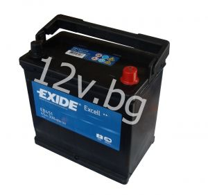 Battery Exide Excell 35 Ah R+JIS