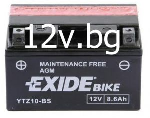 Акумулатор Exide Bike YTZ10-BS