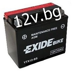 Акумулатор Exide Bike YTX12-BS