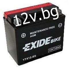 Акумулатор Exide Bike YTX12-BS