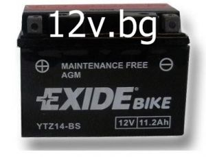 Акумулатор Exide Bike YTZ14-BS