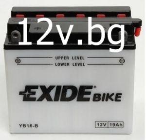 Акумулатор Exide Bike YB16B-A
