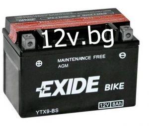 Акумулатор Exide Bike YTX9-BS