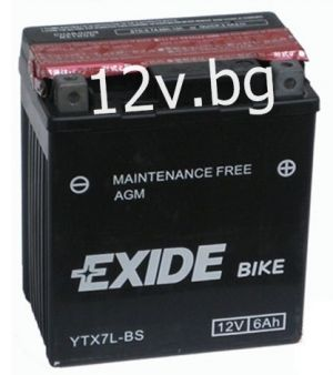 Акумулатор Exide Bike YTX7L-BS