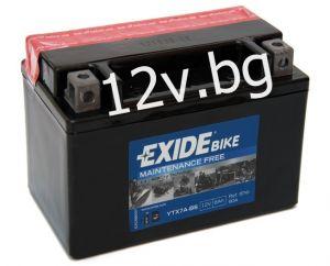 Акумулатор Exide Bike YTX7A-BS