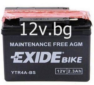Акумулатор Exide Bike YTR4A-BS