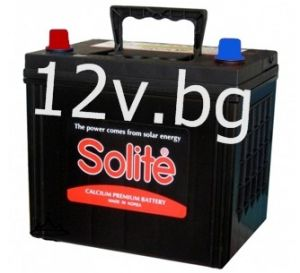 Акумулатор SOLITE 12/65 Ah L+JIS