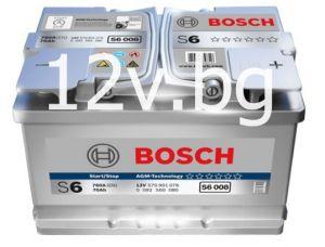 Акумулатор BOSCH S6  AGM 70 R+