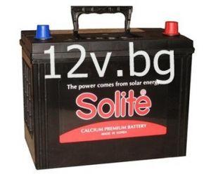 Акумулатор SOLITE 12/80 Ah R+JIS