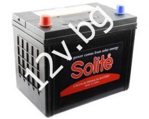 Акумулатор SOLITE 12/80 Ah L+JIS
