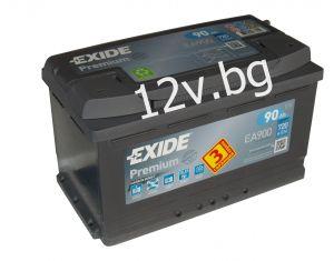 Акумулатор Exide Premium 90 Ah R+