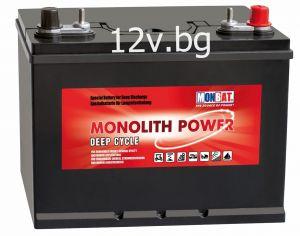 Акумулатор MONBAT MONOLIT POWER DEEP CYCLE 12V/ 130Ah