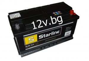 Акумулатор Starline 12/95 Ah R+