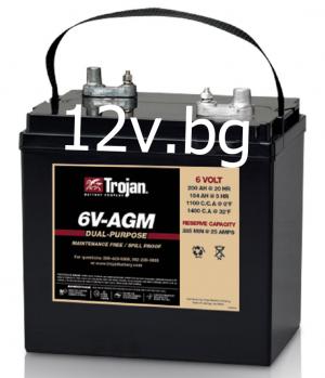 Акумулатор Trojan 6V-AGM