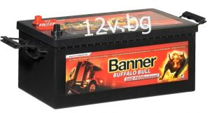 Battery Banner Buffalo Bull SHD PROfessional 12/180 Аh L+